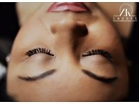Eyelash Extensions Classic, Natural, Russian Volume that last up to 90 days
