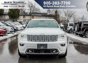 2017 Jeep Grand Cherokee OVERLAND 4X4, SAFETY GROUP, GPS, TOW PK