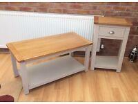 Coffee Table & Lamp Table, New & Unused.