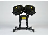 Brand New Adjustable Dumbbells 5-40kg 17 pairs in 1 Fitness Exercise Gym Weights Not Bowflex