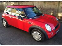 AUTOMATIC MINI ONE VERY LOW MILEAGE FAMILY OWNED FROM NEW ONE YEARS MOT AUTO MINI ONE COOPER