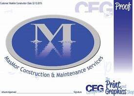 construction property maintenance services/ rubbish removal/gardening/carpentry and plumbing