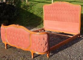 Stunning Antique French Double Bed