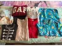 Girls clothes 10/12 yrs (over 65 items)