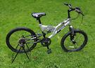 Dunlop kids bike, double suspension