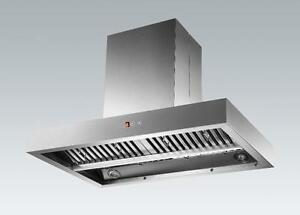 ISLAND RANGE HOOD - NEW DESIGN
