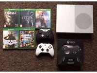Xbox One S 2tb - Xbox Elite Controller, 5 Games