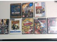 8 Game PC Bundle for Sale-BARGAIN BUY!!!!£15