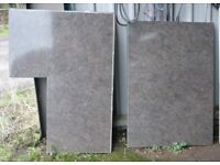 Kitchen worktop offcuts off cuts, ideal for garage or shed, can deliver locally, £90 ono