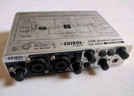 Edirol Roland UA-25EX soundcard 24bit 96kHz