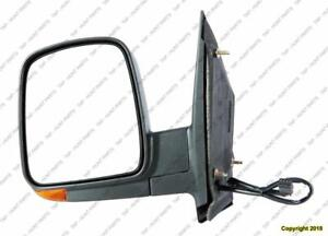 Door Mirror Power Driver Side Heated With Signal Manual Folding Chevrolet Express Van 2003-2007