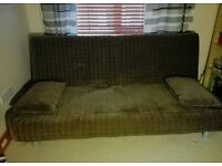 Brown IKEA Beddinge Resmo 3 seater Double Sofabed sofa futon day bed couch settee Delivery possible