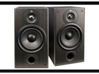 Mordant m20 speakers - with grills - perfect new condition - vinyl stereo
