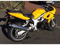 Suzuki sv 650 s excellent condition for year . 5200 miles
