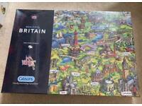 Beautiful Britain 1000 piece jigsaw puzzle