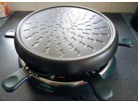 """Tefal Raclette. """"Jour de Fete"""" . With 6 pans."""