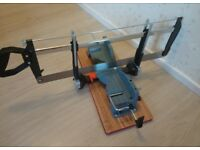 New 550mm Mitre saw. Never been used, i also have a new bench/pillar drill for sale too. See photos