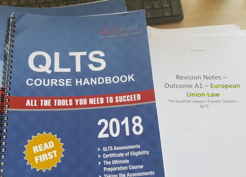 QLTS MCT (2018) Textbooks NEW + revision notes (USED) for Solicitor's exam  | in Central London, London | Gumtree
