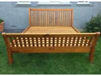 Solid Pine Double bed frame!