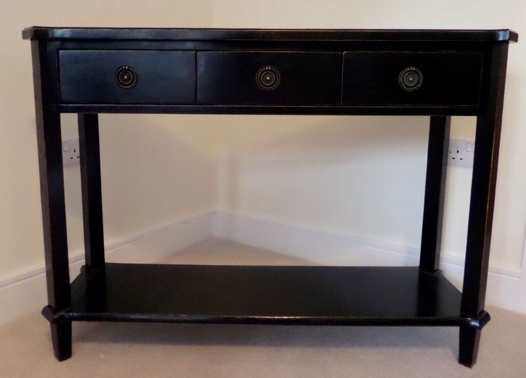 Looklacquered Furniture Inspriation Picklee. Laura Ashley Henshaw Black  Lacquer Console Table In Sidmouth Looklacquered Furniture