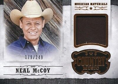 2014 Panini Country Music Costume Relic Card NEAL MCCOY - Country Music Costumes