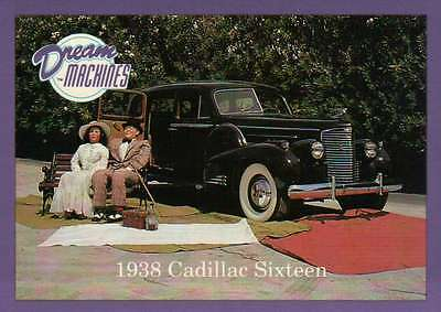 1938 Cadillac Sixteen Imperial Palace Co Las Vegas Car Trading Card Not Postcard (Imperial Trading Company)