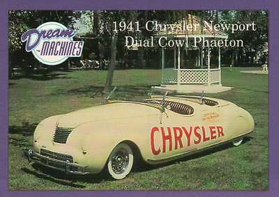 1941 Chrysler Newport Imperial Palace Co Las Vegas Car Trading Card Not Postcard (Imperial Trading Company)