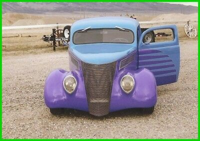 1937 Ford Slant Back  1937 Ford Slant Back Coupe, All Steel, TCI Chassis, Power Windows, 700R Auto