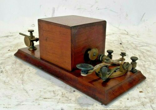Early Box relay Manufactured by J.H. Bunnell & Co NY for Western union Co.