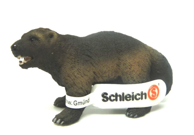 T20) NEU Schleich (14646) Vielfrass unbespielt  Waldtiere Schleichtier