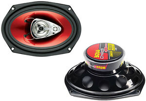 "$29.95 - 2) NEW BOSS CH6930 6x9"" 3-Way 400W CHAOS EXXTREME SERIES Car Audio Speakers"
