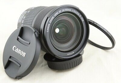Canon EF 24-105mm f/3.5-5.6 IS STM Lens for EOS 1D 5D 6D 7D 80D 90D T7i 77D 70D