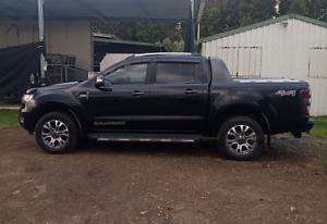 Black Ford Ranger Wildtrack