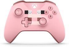 Microsoft Xbox One Wireless Controller - Pink Minecraft Pig X1, Xbox One S