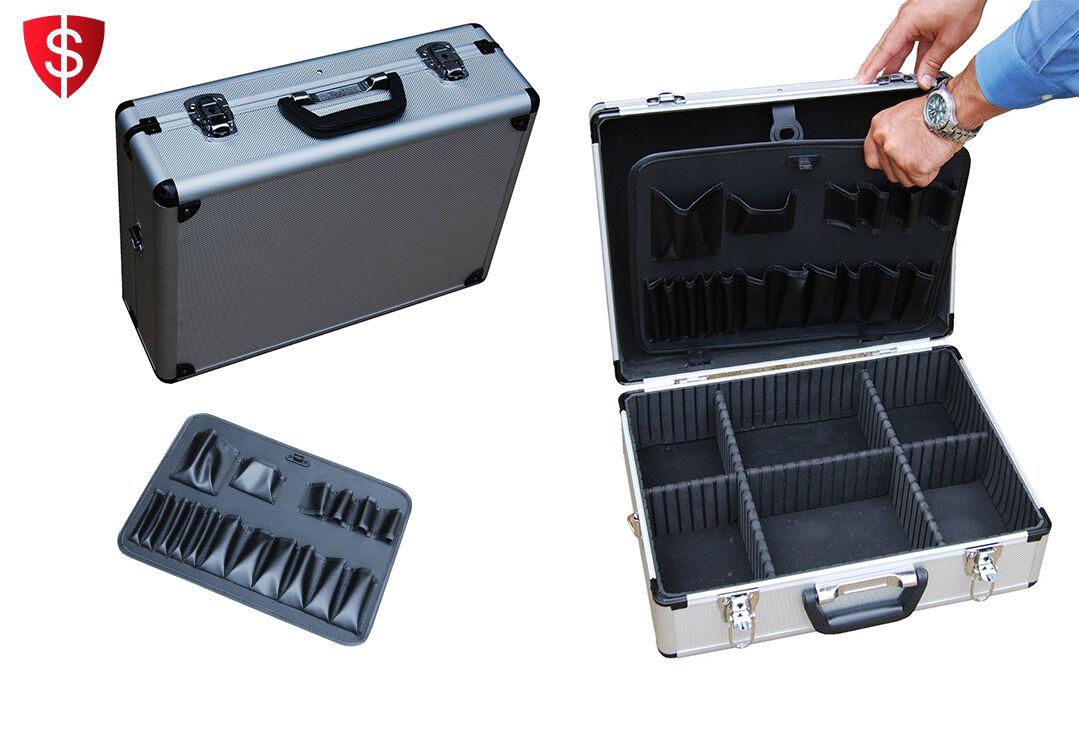 Vestil Barber Tool Case Storage Carrying Bag Hair Clipper...
