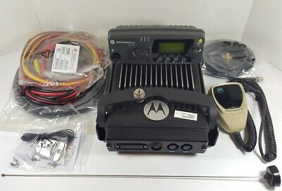 Motorola Pm1500 Vhf 136-174 Mhz 110w Mdc P25 Digital Mobile Radio Aam79ktd9pw5an