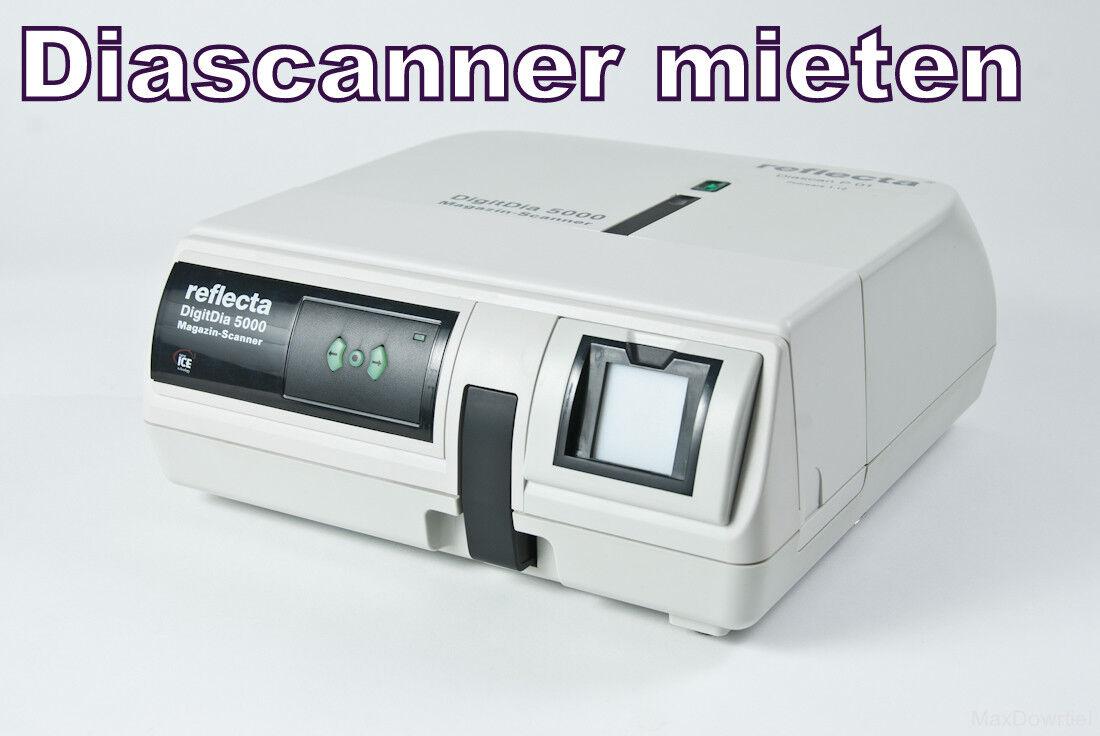 Diascanner Mieten - Reflecta Digitdia 6000 für 7 Tage mieten - HERBSTAKTION