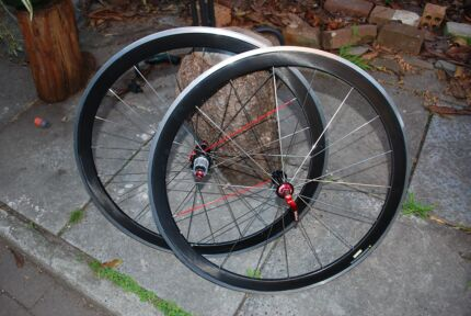 Vision T42 carbon alloy clincher rims Hurlstone Park Canterbury Area Preview