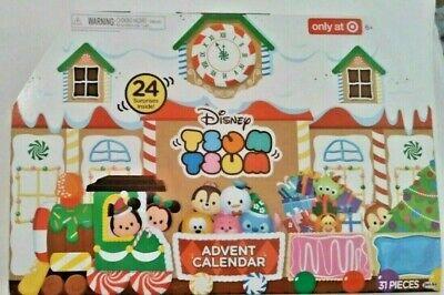 Disney Tsum Tsum Advent Calendar 2017 New Target Exclusive NEW NRFB SEALED