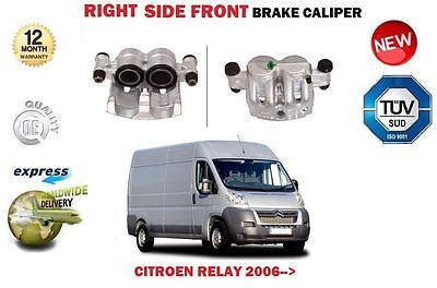 FOR CITROEN RELAY 2.2 3.0 HDI 2006-> NEW FRONT RIGHT SIDE BRAKE CALIPER