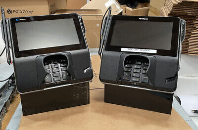 Lot Of 2 - Verifone Mx 925 Credit Card Terminal Pin Pad With Power Supply