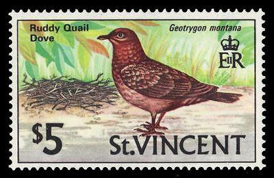 "ST. VINCENT 294 (SG300) - Ruddy Quail Dove ""Geotrygon montana"" (pa21580)"