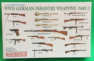 Wwii German Infantry Weapons - Dragon 3816  1/35 WWII German Infantry Weapons Part 2