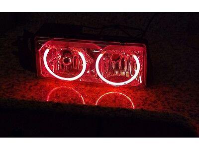Chevy Caprice Impala SS Headlight red demon eyes halo 9c1 buick roadmaster wagon