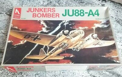 HOBBY CRAFT Ju-88-A4 STUKA BOMBER - 1/48 MODEL KIT # HC1601 - New  for sale  Overland Park