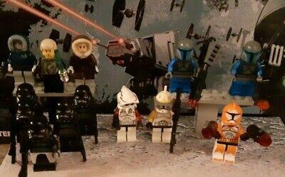 LEGO MINIFIGURES LOT STAR WARS 13 TROOPERS BOMB SHADOW MANDALORIAN FAST SHIPPING