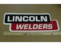 "5/"" Lincoln Electric Welder Decal Sticker Car Truck Window Bumper USA tool box"