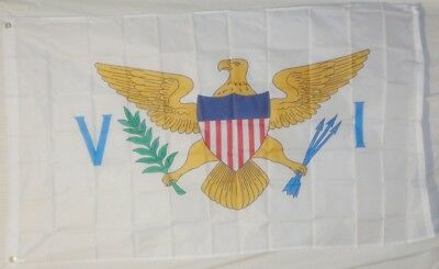 US Virgin Islands Flag 3x5 ft State VI USVI Saint St Croix John Thomas Caribbean