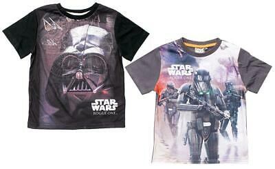 Boys T-Shirt Star Wars Tee Vader Death Trooper Rogue One Top Kids 4 Years