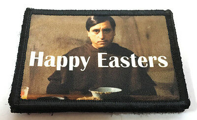 ppy Easters Morale Patch Jack Black Funny (Happy Easters)